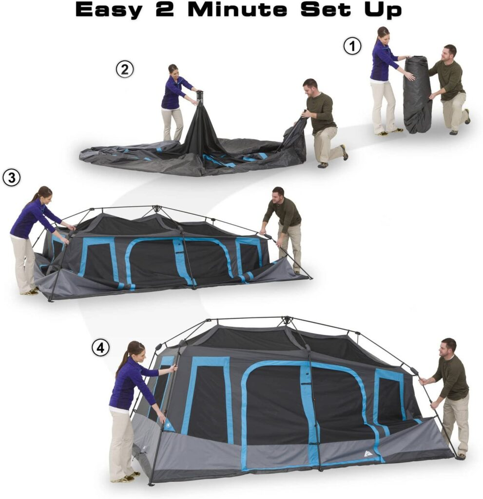 10 person instant tent